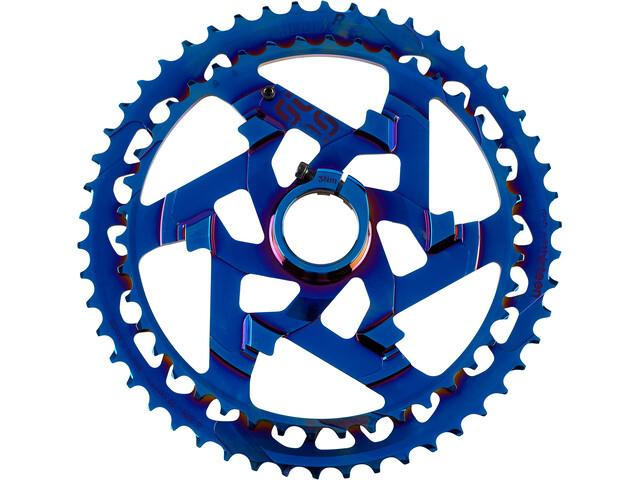 e*thirteen Helix Race Rueda Dentada Superior 12-Vel Aluminio, azul